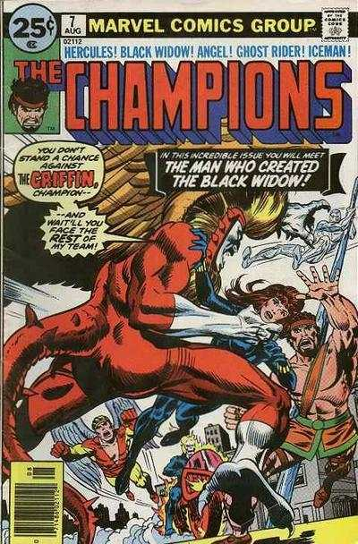 Champions #7 comic books for sale