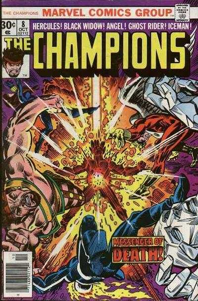 Champions #8 comic books - cover scans photos Champions #8 comic books - covers, picture gallery