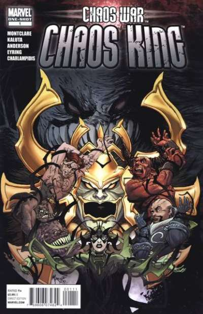Chaos War: Chaos King #1 comic books - cover scans photos Chaos War: Chaos King #1 comic books - covers, picture gallery