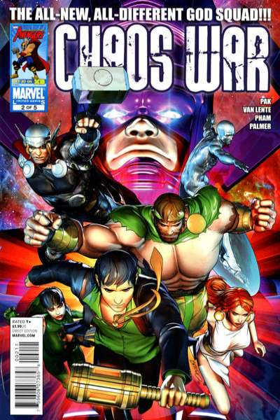 Chaos War #2 comic books - cover scans photos Chaos War #2 comic books - covers, picture gallery