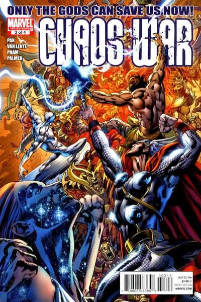 Chaos War #3 Comic Books - Covers, Scans, Photos  in Chaos War Comic Books - Covers, Scans, Gallery