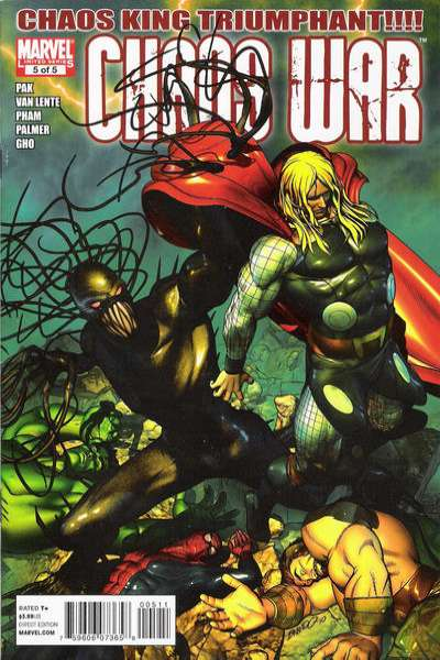 Chaos War #5 comic books - cover scans photos Chaos War #5 comic books - covers, picture gallery
