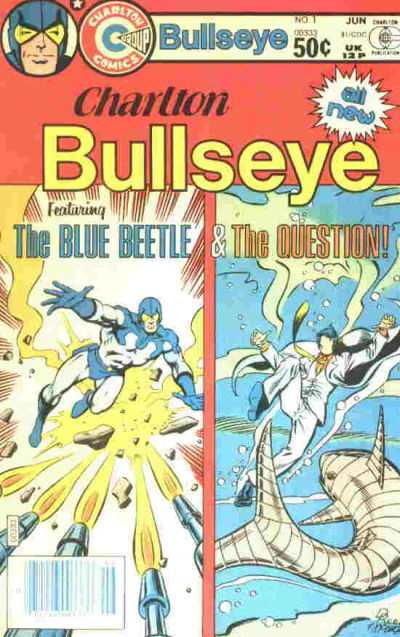 Charlton Bullseye comic books