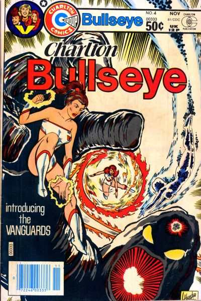 Charlton Bullseye #4 comic books - cover scans photos Charlton Bullseye #4 comic books - covers, picture gallery