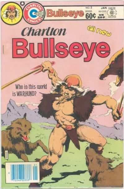 Charlton Bullseye #5 comic books - cover scans photos Charlton Bullseye #5 comic books - covers, picture gallery