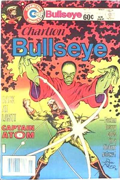 Charlton Bullseye #7 Comic Books - Covers, Scans, Photos  in Charlton Bullseye Comic Books - Covers, Scans, Gallery