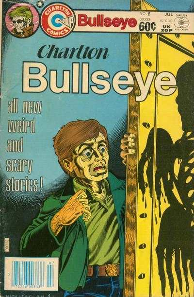 Charlton Bullseye #8 comic books - cover scans photos Charlton Bullseye #8 comic books - covers, picture gallery