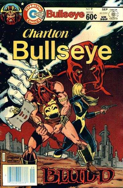 Charlton Bullseye #9 Comic Books - Covers, Scans, Photos  in Charlton Bullseye Comic Books - Covers, Scans, Gallery