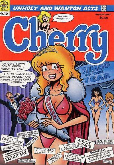 Cherry #10 Comic Books - Covers, Scans, Photos  in Cherry Comic Books - Covers, Scans, Gallery