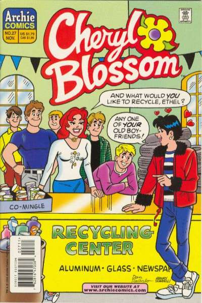 Cheryl Blossom #27 Comic Books - Covers, Scans, Photos  in Cheryl Blossom Comic Books - Covers, Scans, Gallery