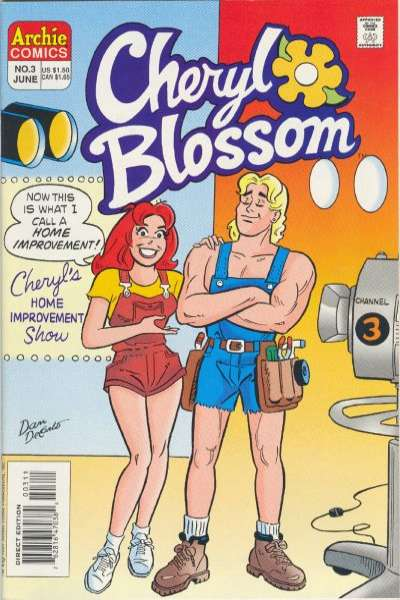 Cheryl Blossom #3 Comic Books - Covers, Scans, Photos  in Cheryl Blossom Comic Books - Covers, Scans, Gallery
