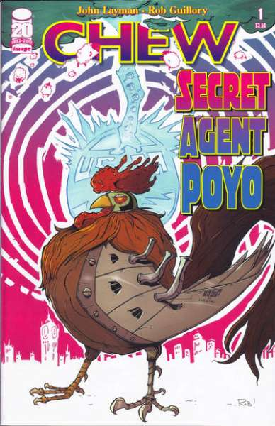 Chew: Secret Agent Poyo #1 comic books - cover scans photos Chew: Secret Agent Poyo #1 comic books - covers, picture gallery