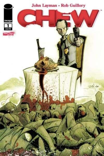 Chew comic books