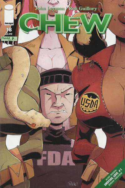 Chew #18 Comic Books - Covers, Scans, Photos  in Chew Comic Books - Covers, Scans, Gallery