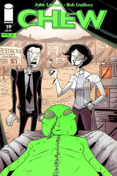Chew #19 Comic Books - Covers, Scans, Photos  in Chew Comic Books - Covers, Scans, Gallery