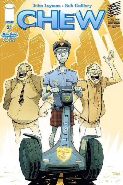 Chew #21 Comic Books - Covers, Scans, Photos  in Chew Comic Books - Covers, Scans, Gallery