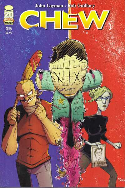 Chew #25 Comic Books - Covers, Scans, Photos  in Chew Comic Books - Covers, Scans, Gallery