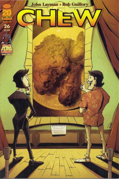 Chew #26 Comic Books - Covers, Scans, Photos  in Chew Comic Books - Covers, Scans, Gallery