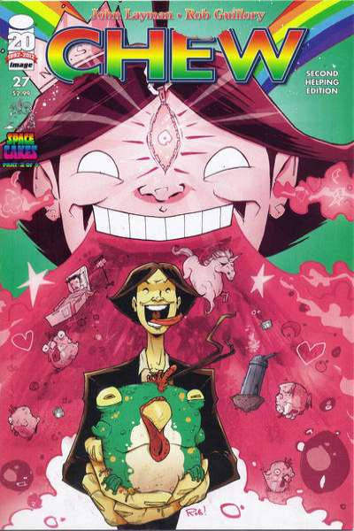 Chew #27 comic books for sale
