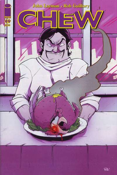 Chew #49 comic books for sale