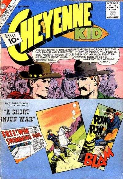 Cheyenne Kid #30 Comic Books - Covers, Scans, Photos  in Cheyenne Kid Comic Books - Covers, Scans, Gallery