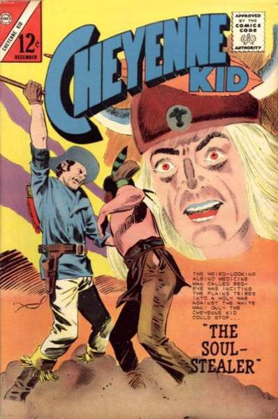 Cheyenne Kid #48 Comic Books - Covers, Scans, Photos  in Cheyenne Kid Comic Books - Covers, Scans, Gallery