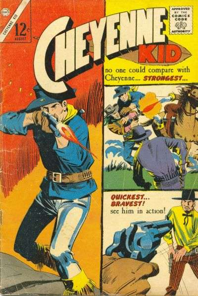 Cheyenne Kid #51 Comic Books - Covers, Scans, Photos  in Cheyenne Kid Comic Books - Covers, Scans, Gallery