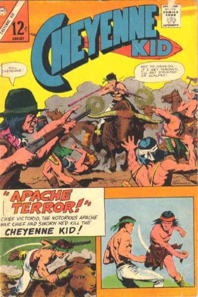Cheyenne Kid #57 Comic Books - Covers, Scans, Photos  in Cheyenne Kid Comic Books - Covers, Scans, Gallery