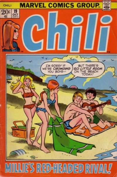 Chili #19 comic books - cover scans photos Chili #19 comic books - covers, picture gallery