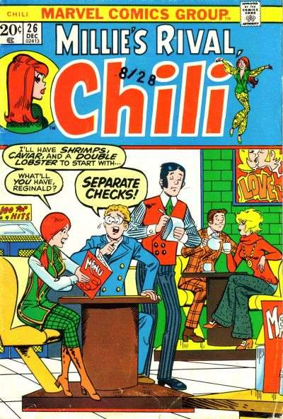 Chili #26 comic books for sale