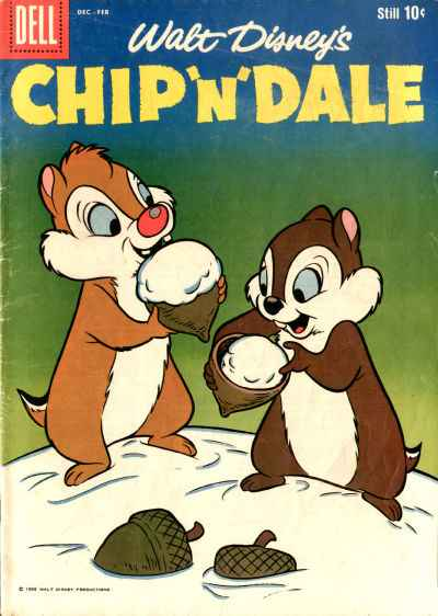 Chip 'n' Dale #16 comic books - cover scans photos Chip 'n' Dale #16 comic books - covers, picture gallery