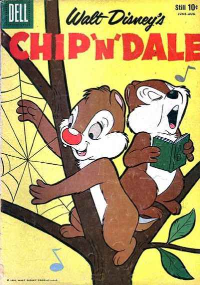 Chip 'n' Dale #18 comic books - cover scans photos Chip 'n' Dale #18 comic books - covers, picture gallery