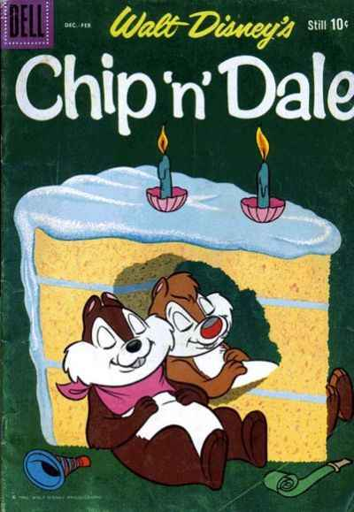 Chip 'n' Dale #24 comic books for sale