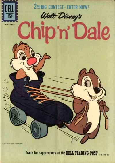 Chip 'n' Dale #27 comic books - cover scans photos Chip 'n' Dale #27 comic books - covers, picture gallery