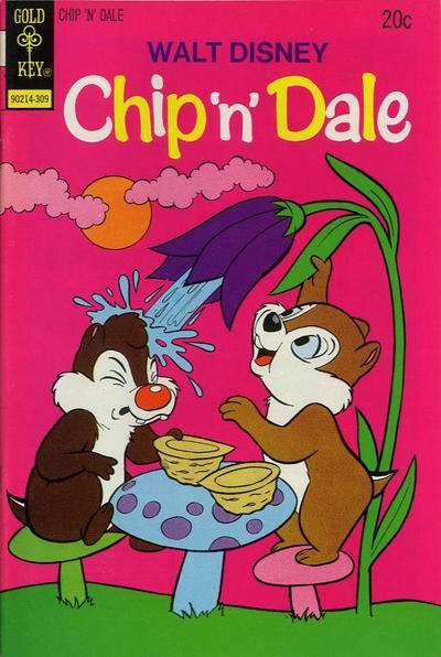 Chip 'n' Dale #23 comic books - cover scans photos Chip 'n' Dale #23 comic books - covers, picture gallery