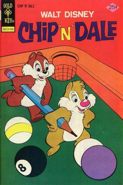 Chip 'n' Dale #33 comic books for sale