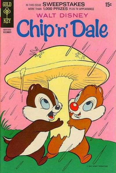 Chip 'n' Dale #5 Comic Books - Covers, Scans, Photos  in Chip 'n' Dale Comic Books - Covers, Scans, Gallery