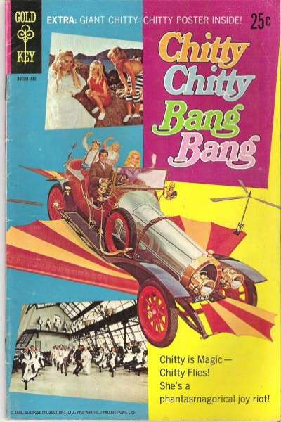 Chitty Chitty Bang Bang Comic Books. Chitty Chitty Bang Bang Comics.
