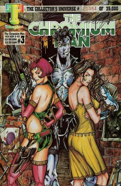 Chromium Man #3 comic books for sale