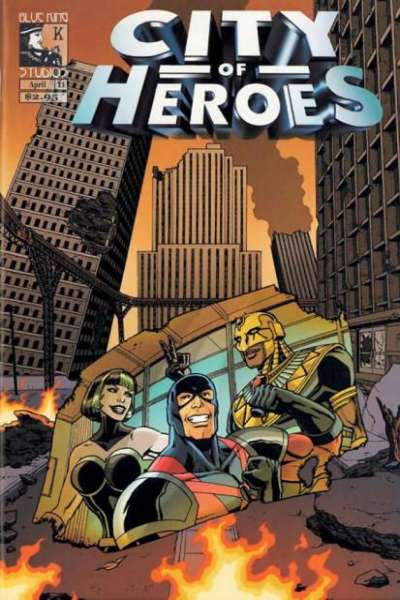 City of Heroes #11 comic books for sale