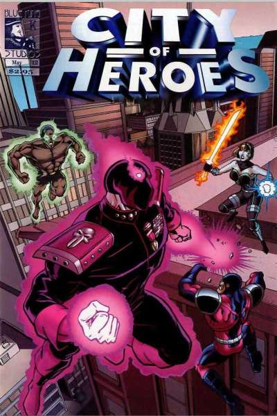 City of Heroes #12 comic books - cover scans photos City of Heroes #12 comic books - covers, picture gallery