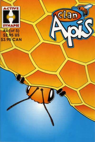 Clan Apis #4 comic books - cover scans photos Clan Apis #4 comic books - covers, picture gallery