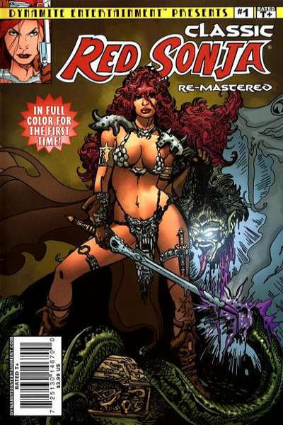 Classic Red Sonja Remastered Comic Books. Classic Red Sonja Remastered Comics.