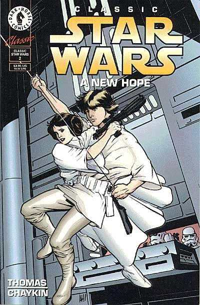 Classic Star Wars: A New Hope #2 Comic Books - Covers, Scans, Photos  in Classic Star Wars: A New Hope Comic Books - Covers, Scans, Gallery