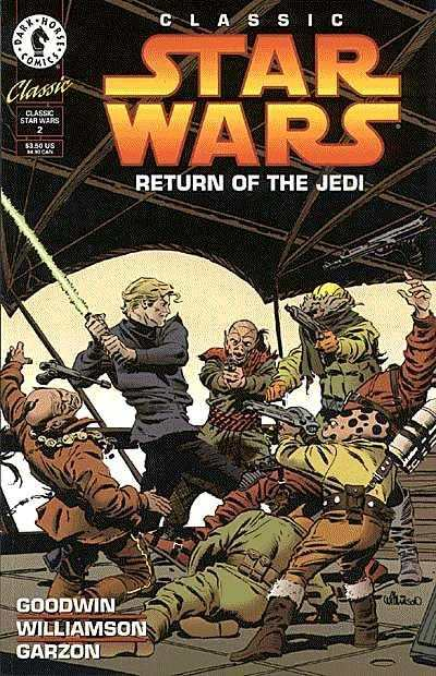 Classic Star Wars: Return of the Jedi #2 Comic Books - Covers, Scans, Photos  in Classic Star Wars: Return of the Jedi Comic Books - Covers, Scans, Gallery