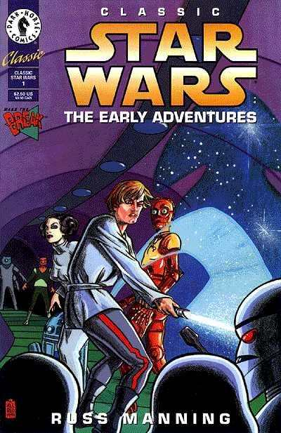 Classic Star Wars: The Early Adventures #1 comic books - cover scans photos Classic Star Wars: The Early Adventures #1 comic books - covers, picture gallery