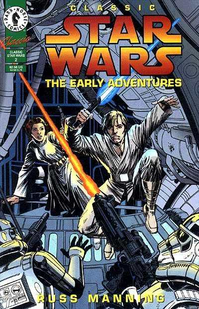 Classic Star Wars: The Early Adventures #2 Comic Books - Covers, Scans, Photos  in Classic Star Wars: The Early Adventures Comic Books - Covers, Scans, Gallery