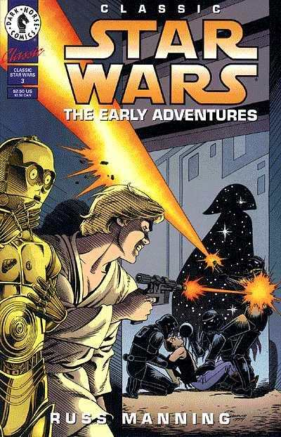 Classic Star Wars: The Early Adventures #3 comic books for sale
