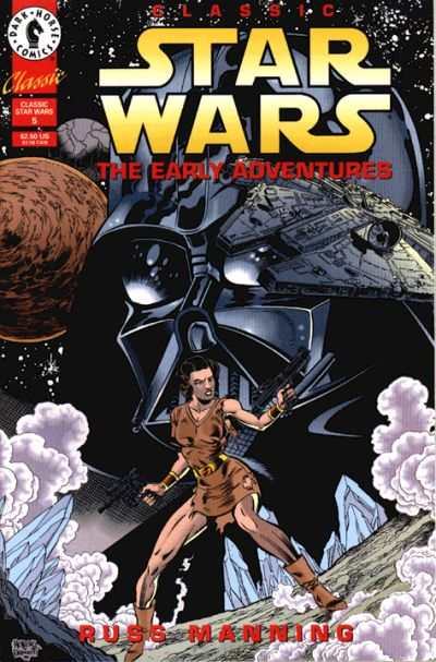 Classic Star Wars: The Early Adventures #5 comic books - cover scans photos Classic Star Wars: The Early Adventures #5 comic books - covers, picture gallery