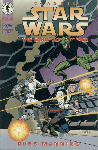 Classic Star Wars: The Early Adventures #7 comic books for sale